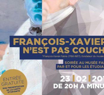 Nocturne du Musée Fabre Montpellier le 23/02