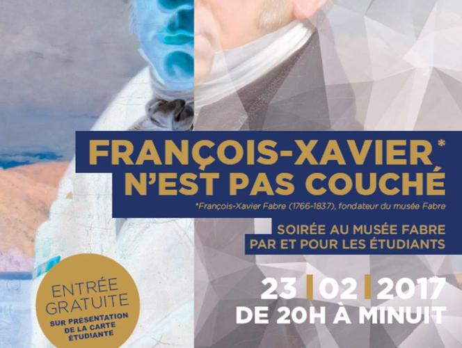 Nocturne au Musée Fabre Montpellier le 23/02/17