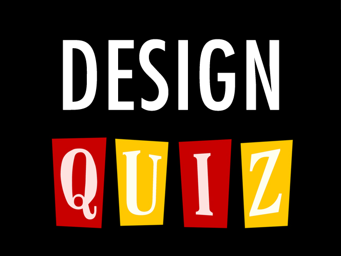DESIGN QUIZ > DESIGN GRAPHIQUE