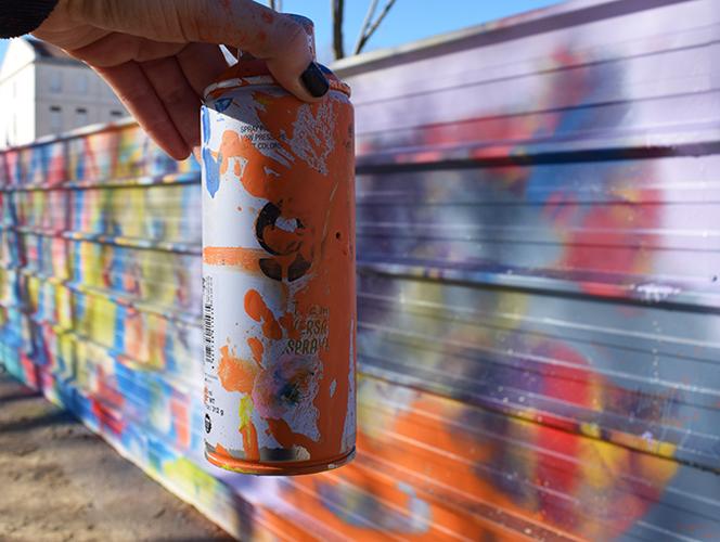 WS Graff : fresque commune