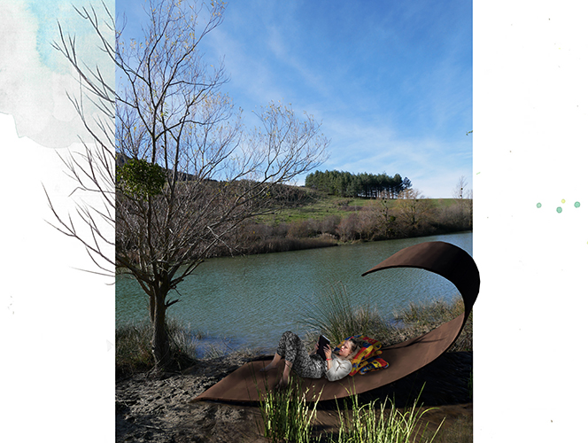 MONTPELLIER – lac de la Vène #K19 #DESIGNDESPACE #PS01