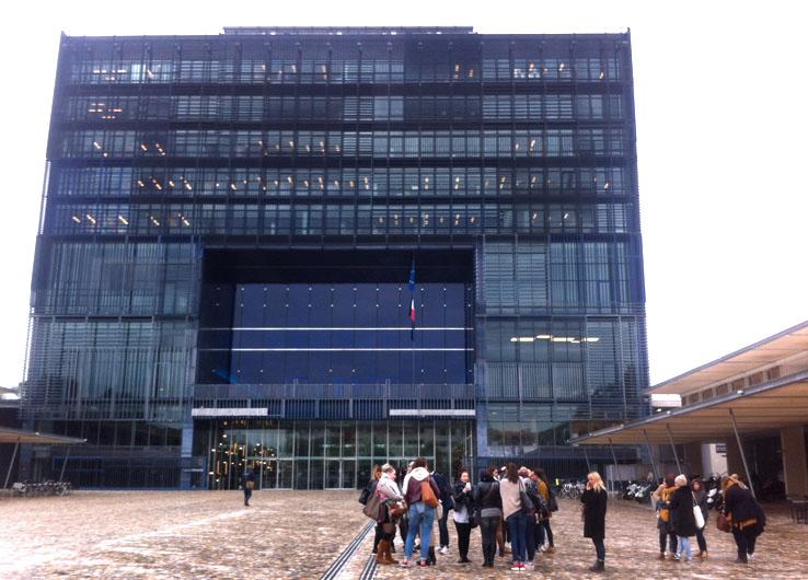Visite de l'hôtel de ville de Montpellier avec les DE1
