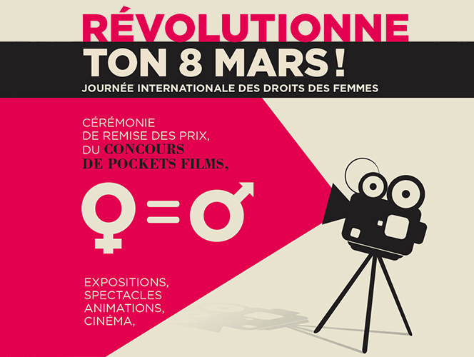 REVOLUTIONNE TON 8 MARS  !