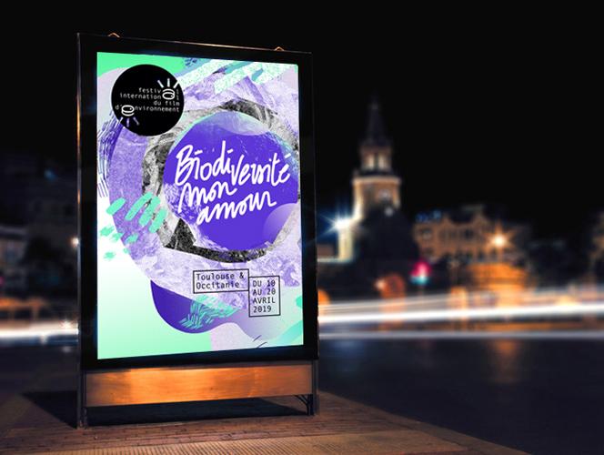 TOULOUSE – festival du film environnemental #K19 #DESIGNGRAPHIQUE #PRINT #PS05